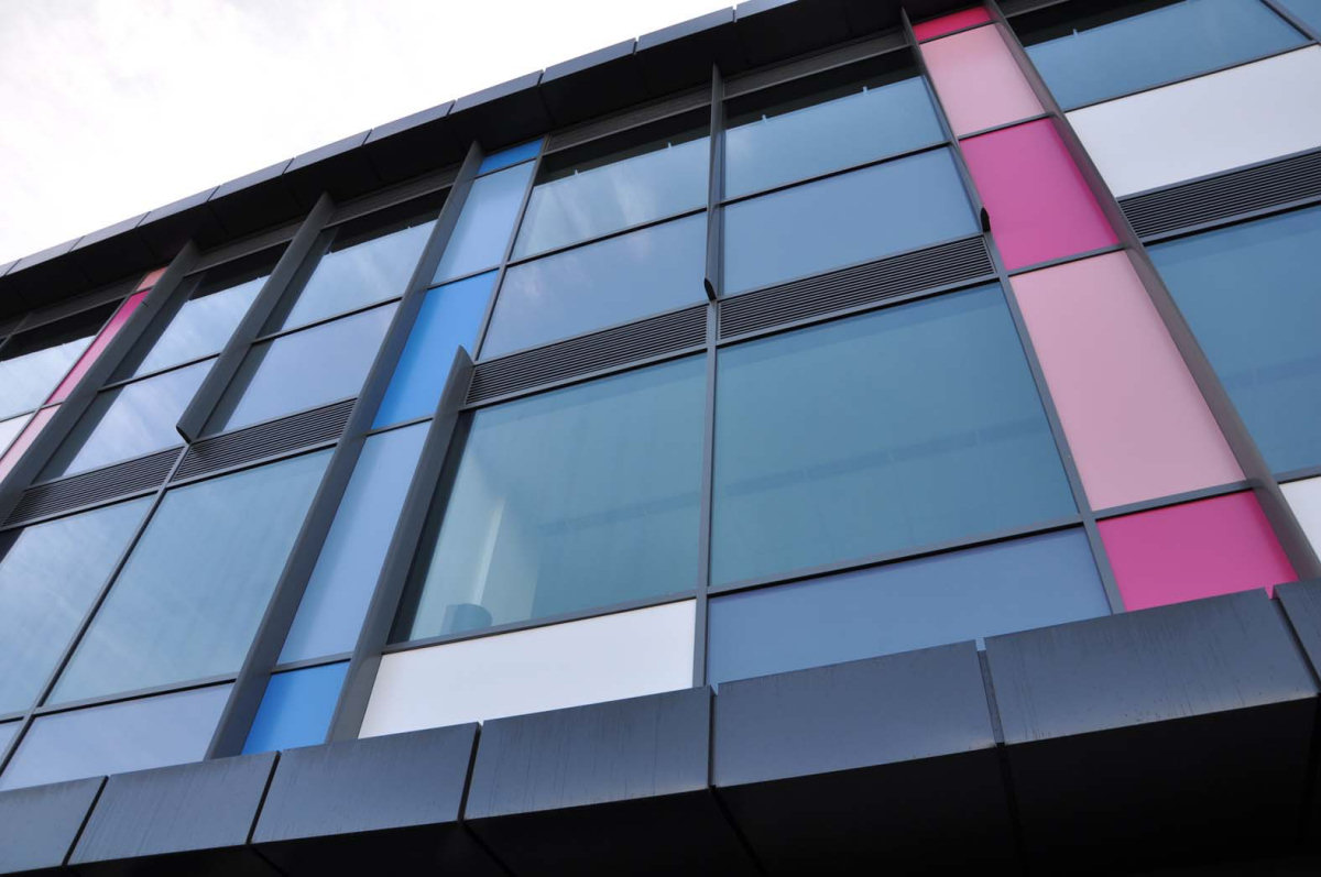 Aluminum Composite Panel Systems : Aluglaze panel systems