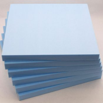 Craftfoam sheets in blue