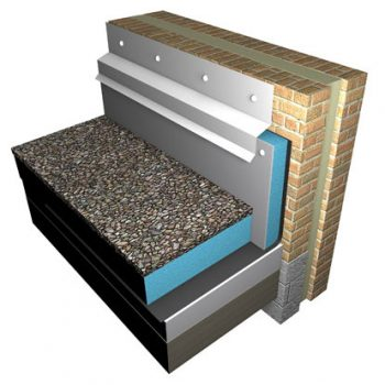 Styrocladeco is an environmentally-friendly, weather-resistant panel designed to insulate an upstand or parapet in roofing applications
