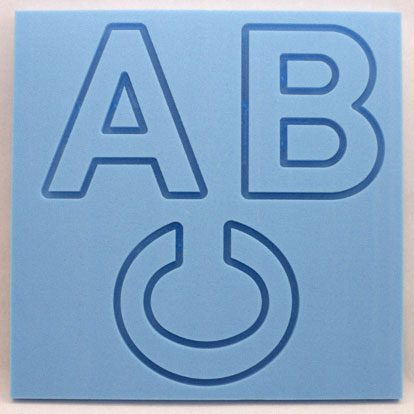 Craftfoam letters and numbers