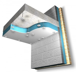 Soffitliner - energy efficiency from the bottom up
