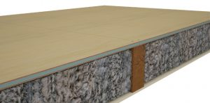 Styroloft is manufactured from birch plywood, which is bonded to both faces of Styrofoam