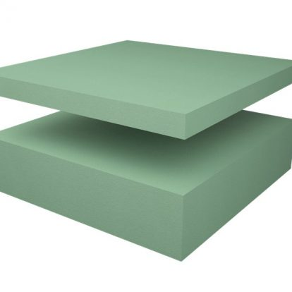 Craftfoam sheets in green