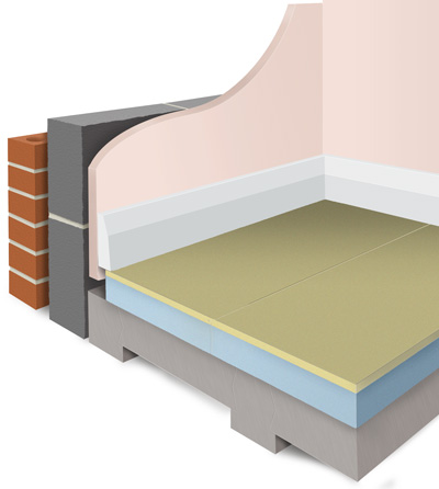 Styrofloor, a high performance insulation solution for enhancing the energy efficiency of conservatories and extensions.