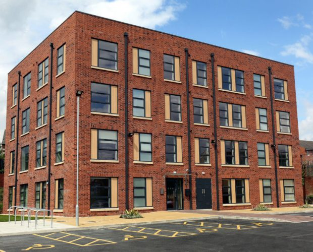 New Residential Building Gets the Trespa Treatment from Panel Systems