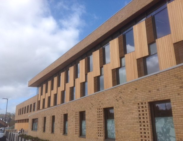 Timber cladding rises to the top