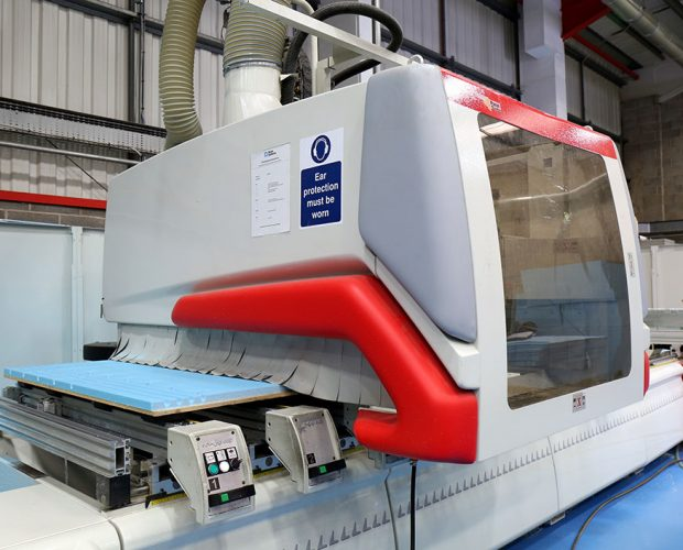 Our CNC cutting/routing machines are capable of cutting and machining many materials